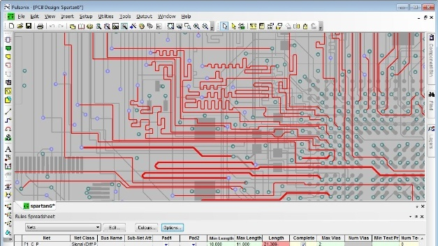 Pulsonix PCB-Design Suite, Version 9.0