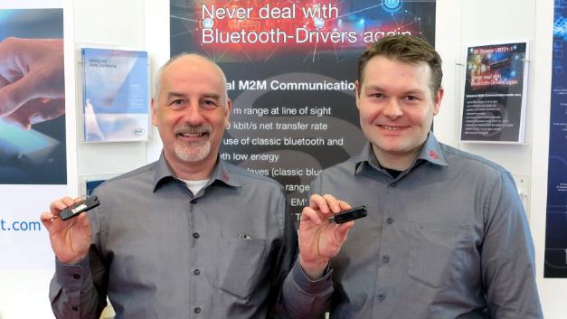 Peter Foraita und Johannes Lange von der SE Spezial-Electronic.