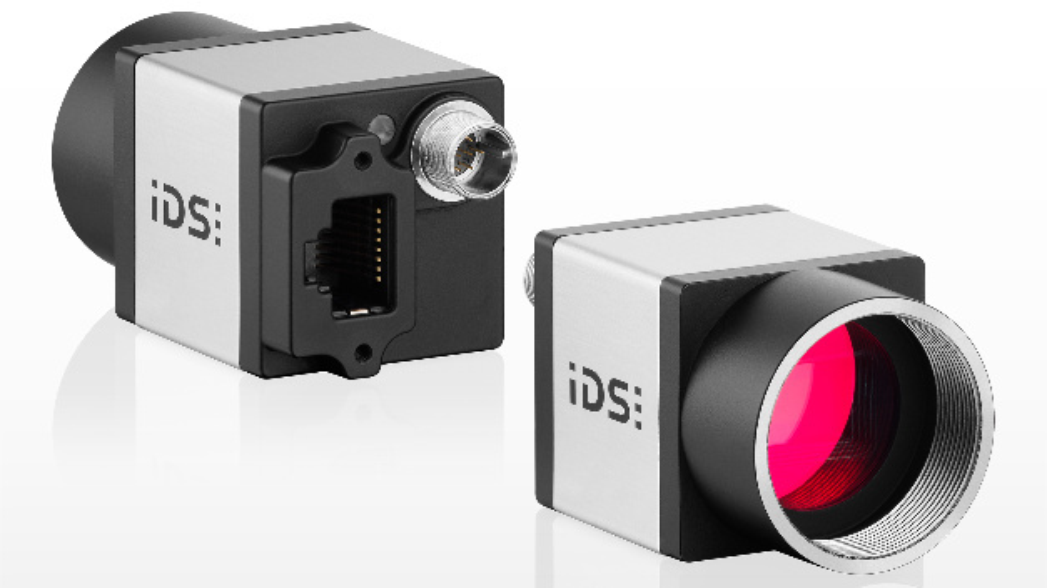 Die Industriekameras der Serie »GigE uEye CP Rev. 2« von IDS sind mit GigE-Vision-Firmware oder der IDS-Software-Suite erhältlich.