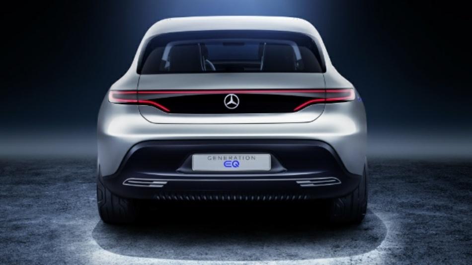 Die Studie Generation EQ hatte Daimler 2016 in Paris vorgestellt. Jetzt ist ein Streit um die Marke EQ entbrannt.
