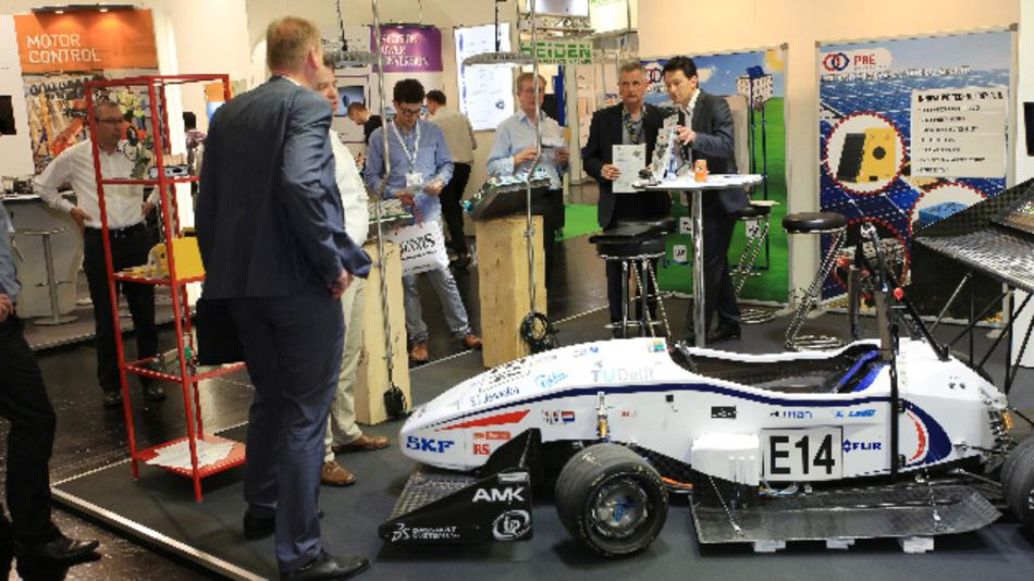 Auch im Jahr 2016 waren Automotive-Themen schon intensiv auf der PCIM vertreten.