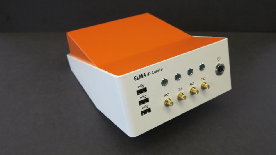 Zugänglichere HMI auf dem Labortisch durch 20° Frontneigung.