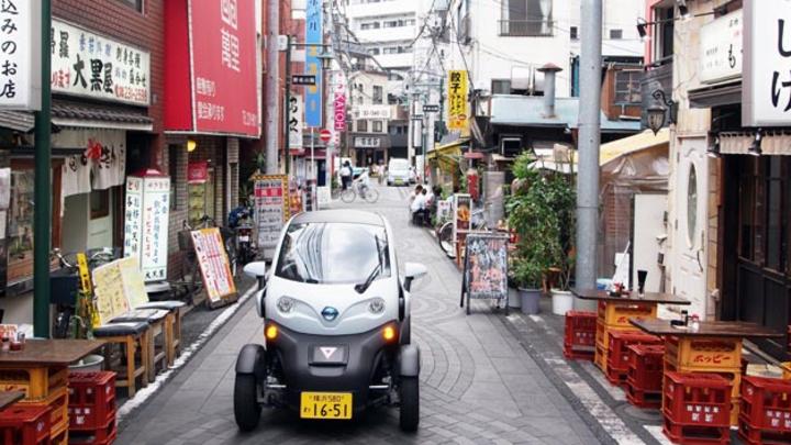 Car-Sharing-Konzept in Yokohama mit kompaktem E-Mobil Nissan New Mobility Concept gestartet.
