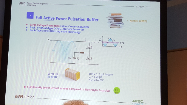 Eingangsseitiger Actice Power Fluctuation Buffer.