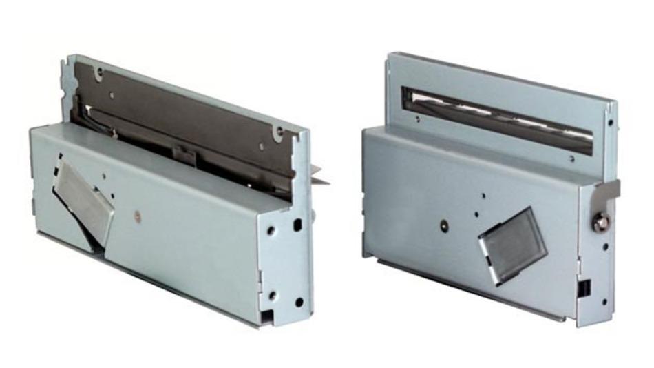 Der Linerless Cutter trennt selbstklebende Papiere, die ohne Trägermaterial von der Rolle kommen.