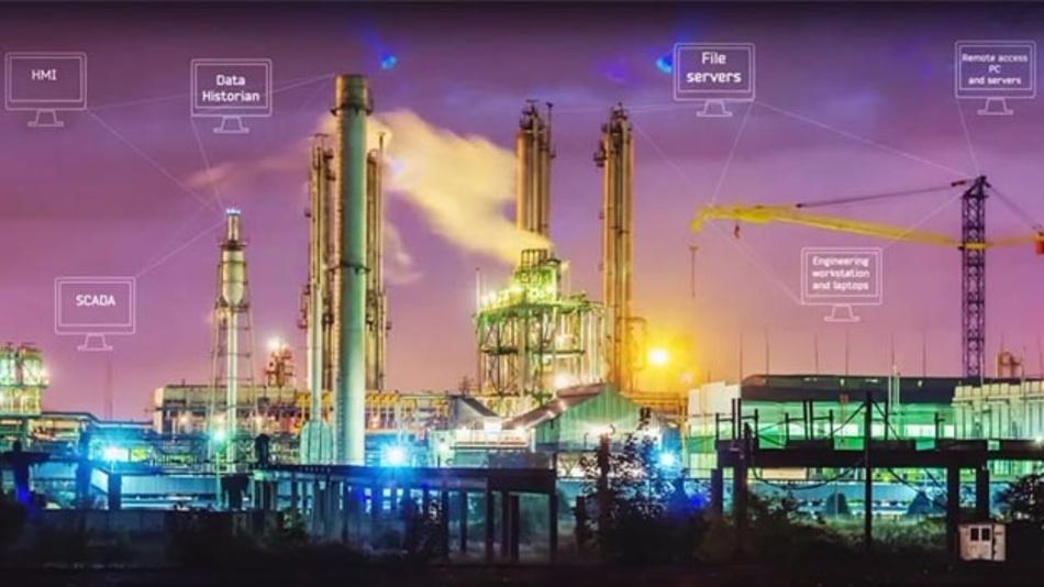 Industrielle Anlagen bieten viele Angriffspunkte.