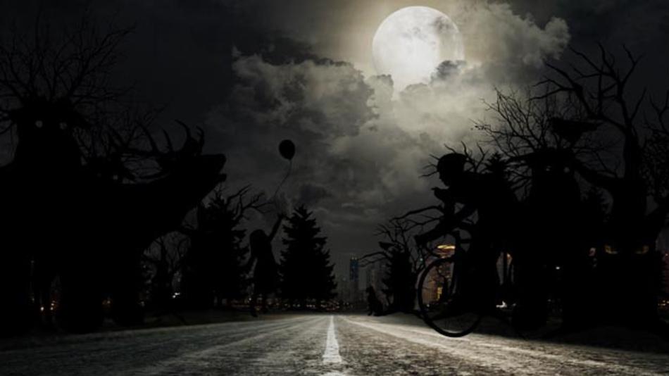 Fußgänger oder Fahrradfahrer, die im Dunkeln unverhofft auf die Straße kommen, werden häufig Opfer eines Unfalls. Hier hilft der Pre Collision-Assist von Ford.