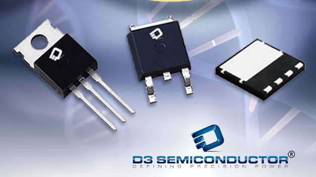 Superjunction-MOSFETs für 650 V: +FETs von D3 Semiconductor