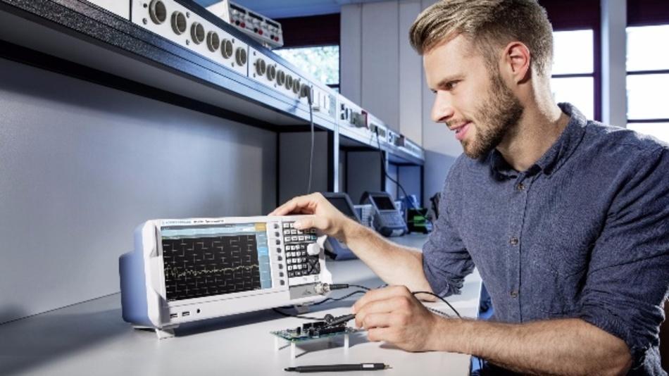 Rohde & Schwarz überträgt sein HF-Know-how aus dem High-end-Segment in die Einstiegsklasse.
