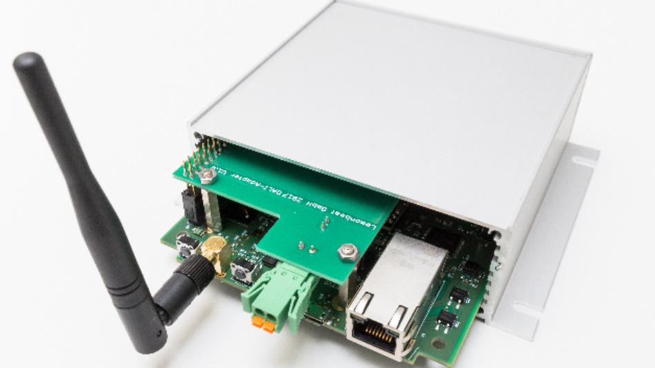 Der neue Adapter fügt lichttechnische Geräte für die Gebäudeautomation über DALI in das IoT-Ecosystem von Lemonbeat ein.