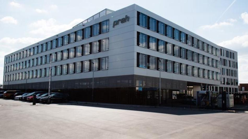 Das neue Entwicklungszentrum von Preh in Bad Neustadt bietet Raum für rund 400 Hightech-Arbeitsplätze.