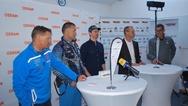 Osram Lichtbrille Pressekonferenz