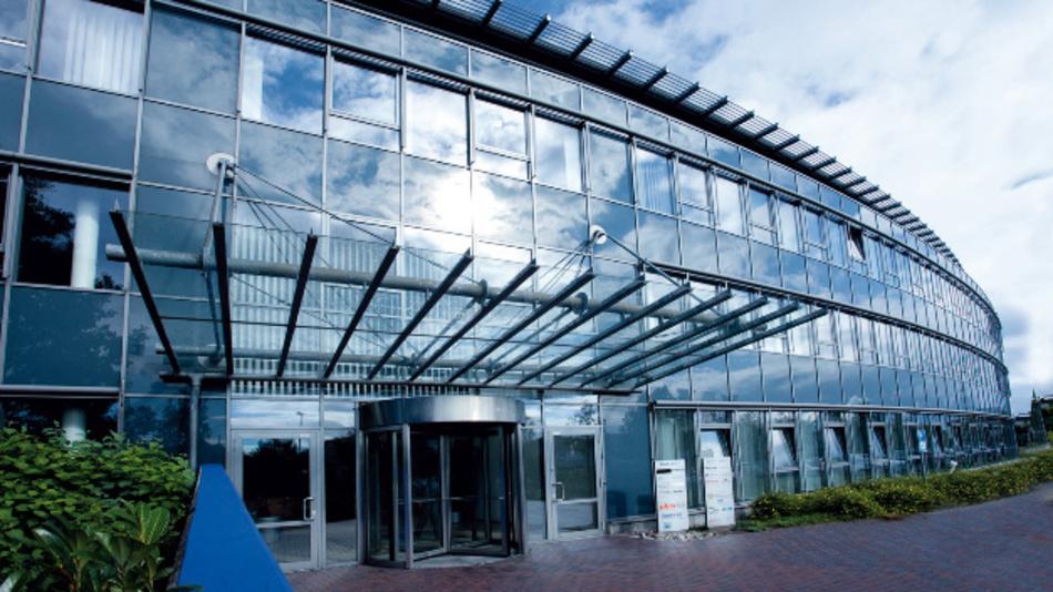 Der Stammsitz der Basler AG in Ahrensburg bei Hamburg