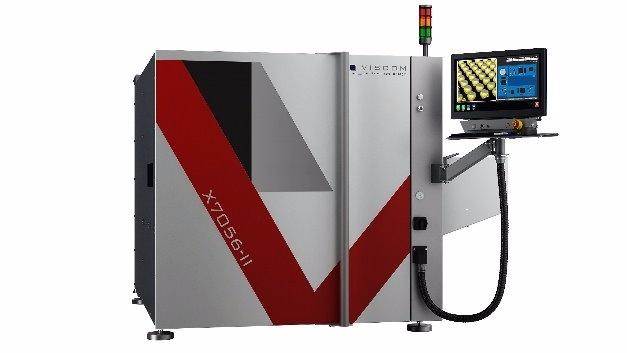 Neue 3D-AXI-Maschine X7056-II von Viscom