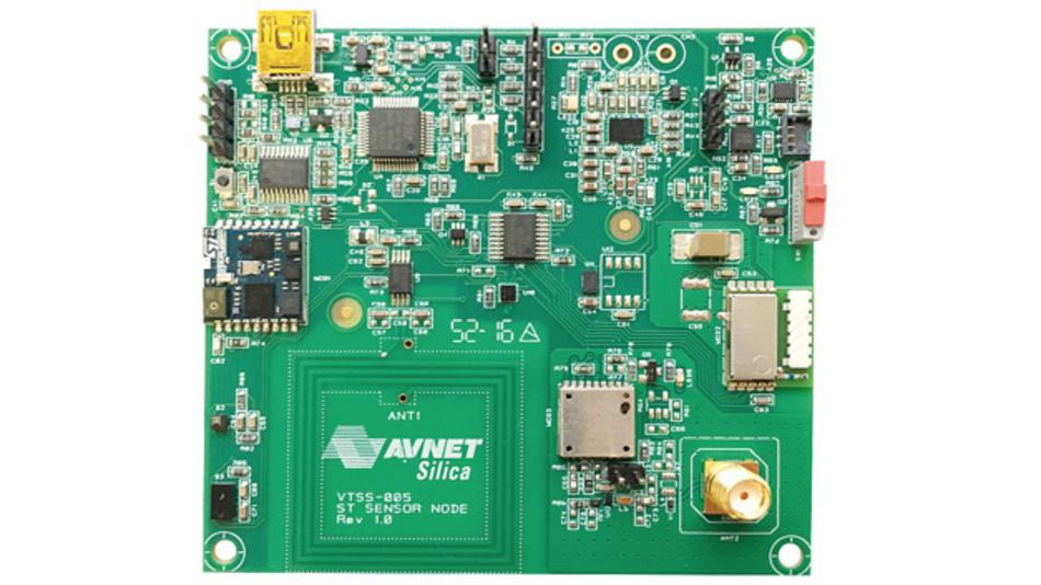 Kombiniert STs MCU-Technologie  mit der ARM mbed IoT Device Platform:  das Sensorknoten-Evaluierungsboard  von Avnet Silica.