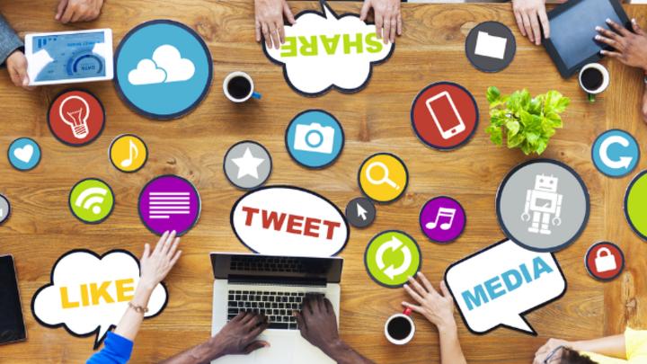 Soziale Medien werden auch im Job immer wichtiger.