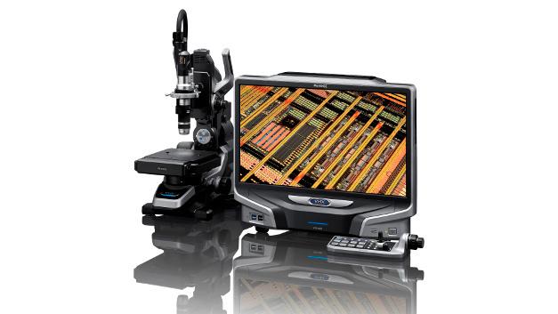 Alle Komponenten des VHX-6000 - Objektive, Kamera, Grafiksystem und Objekttisch – sind Keyence-eigene Entwicklungen und als Komplettsystem konzipiert.