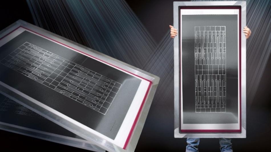 Mit BECmax präsentiert Becktronic eine SMD-Schablone mit 2,5 Metern Länge.