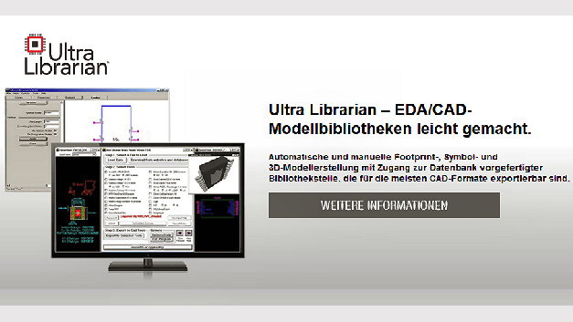Ultra-Librarian-Symbole, -Footprints und -3D-Modelle
