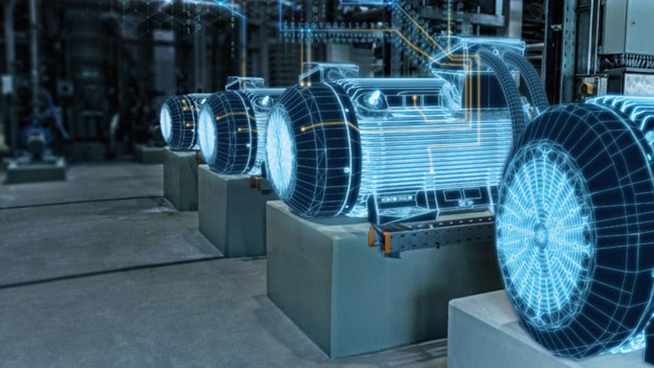 Die neue Generation der Simotics-Schwerlastmotoren von Siemens übermitteln ihre Zustandsdaten in die Siemens-Cloud MindSphere (Quelle: www.siemens.com/presse)