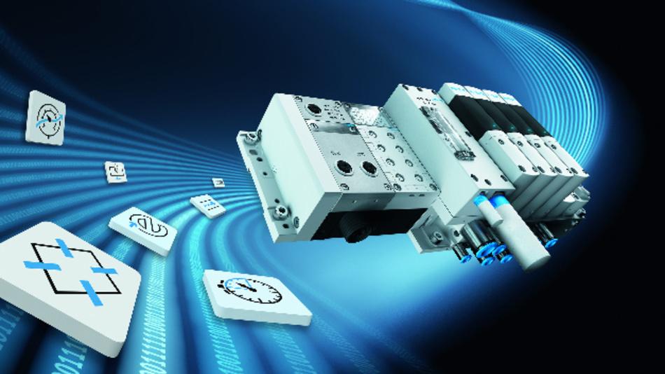 Das »Festo Motion Terminal« von Festo soll die Automatisierung mit Pneumatik revolutionieren.