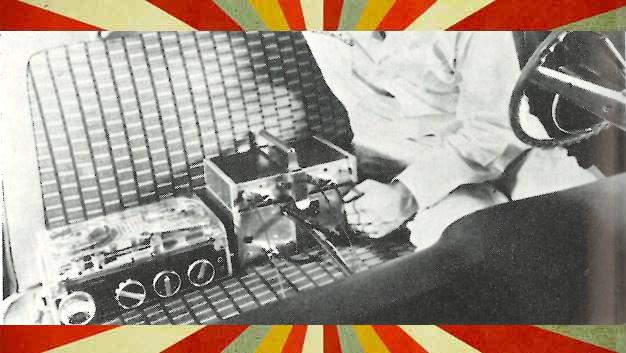 So sah mobile Messtechnik 1968 aus. Statt in der Cloud wurden die Daten auf Magnetbändern gespeichert.