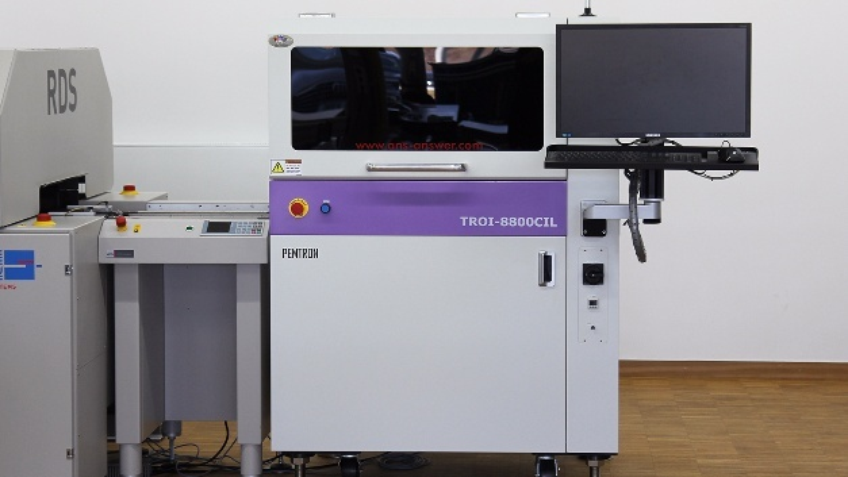 Lackinspektionssystem TROI-8800CIL.