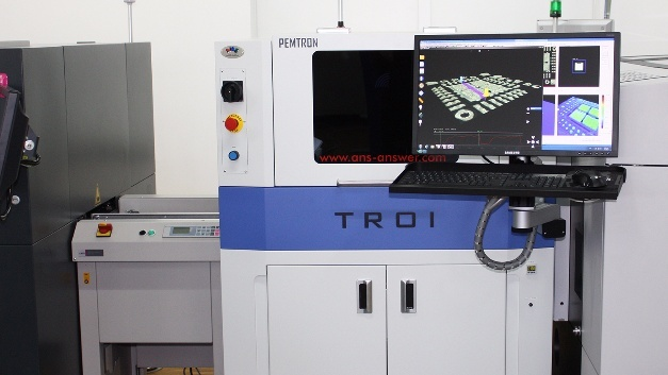 Lotpasteninspektionssystem TROI-7700H