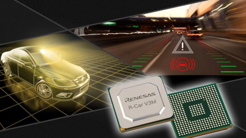 Mit dem R-Car V3M hat Renesas ein SoC entwickelt, das für den Einsatz in Frontkamera-Anwendungen sowie Surround-View-Systemen und Lidars gedacht ist.