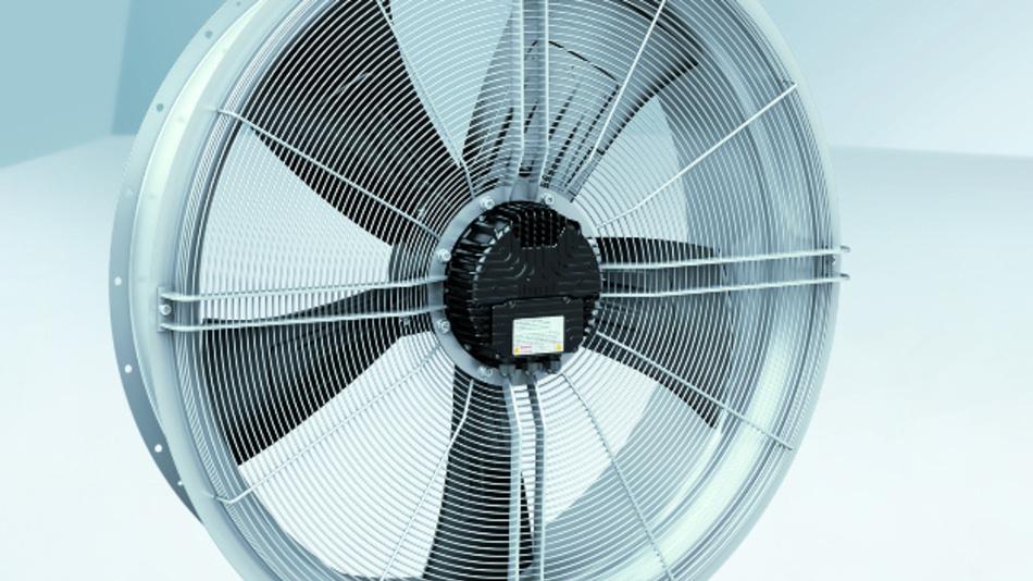 Dank der EC-Technologie von ebm-papst ist der Einsatz aller Trafo-Ventilatoren auch im Teillastbetrieb problemlos möglich.