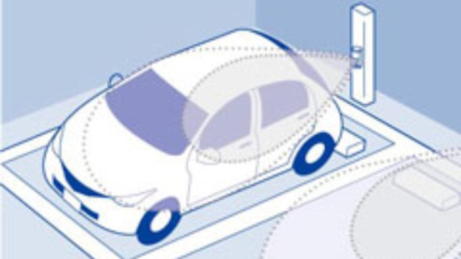 Münzparkplätze in Tokyo nutzen Sensoren von OPTEX, die ihre Daten direkt an den Cloud-Server schicken, der feststellt, ob der Parkplatz belegt oder frei ist.