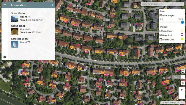 Analyse von Luftbilddaten