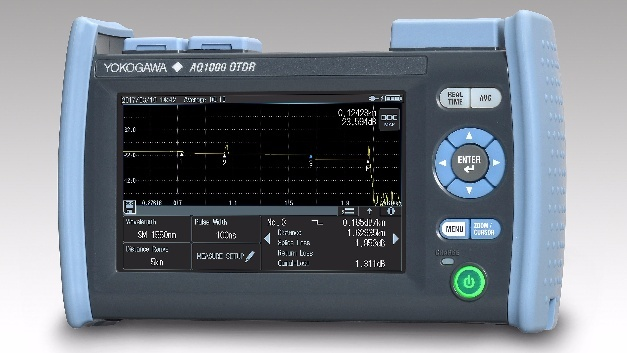 Neues Optical Time Domain Reflectometer von Yokogawa