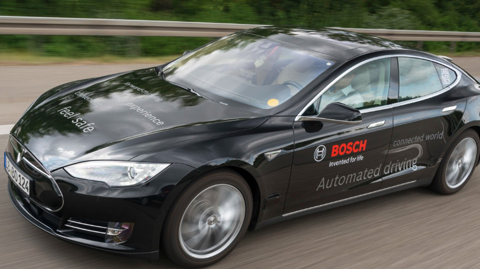 Bosch kooperiert mit chinesischen Unternehmen.