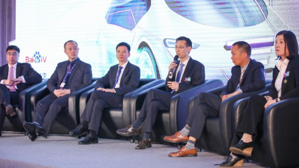 Vertreter von Bosch, Autonavi, Baidu und Navinfo sprechen über die Zusammenarbeit.