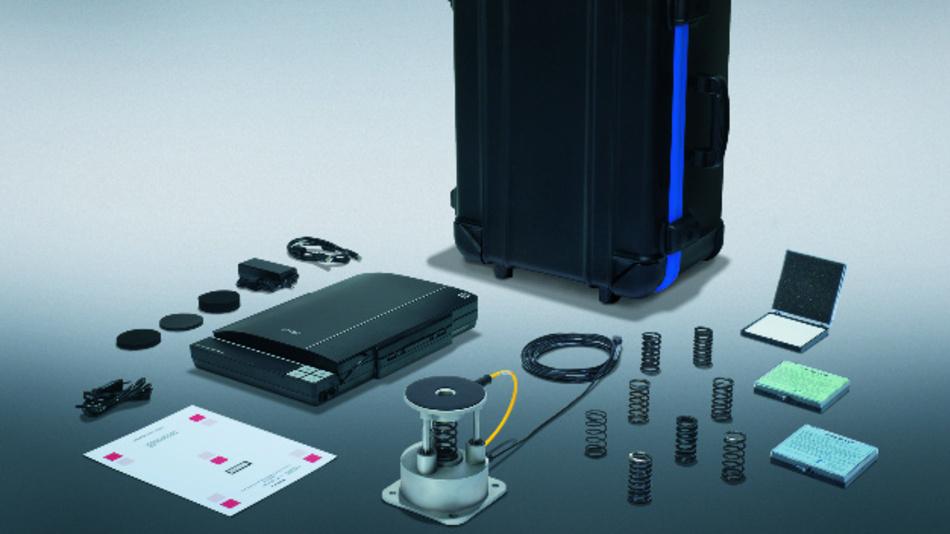 Mit dem Kraft- und Druckmesssystem »PROBms« von Pilz lässt sich die Übereinstimmung der Sicherheitsmaßnahmen mit den geltenden MRK-Normen, hier ISO/TS 15066, nachweisen.