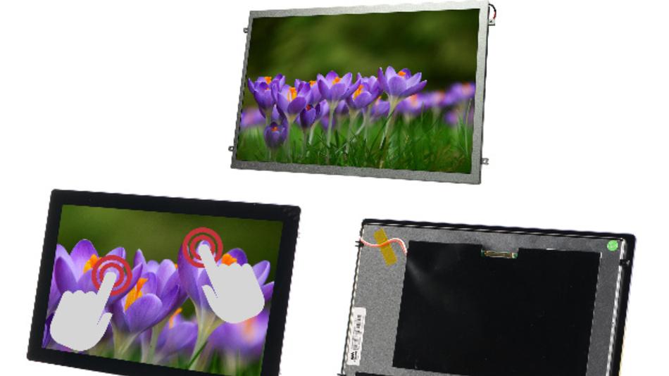 Bei Ampires 10,1-Zoll-TFT-Displays sorgt die MVA-Technologie für Blickwinkel von 170 Grad.