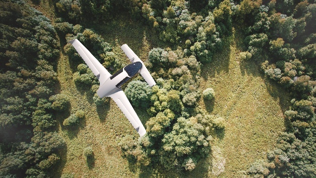 """Der """"Lilium Jet"""" hat seinen Erstflug erfolgreich bewältigt."""