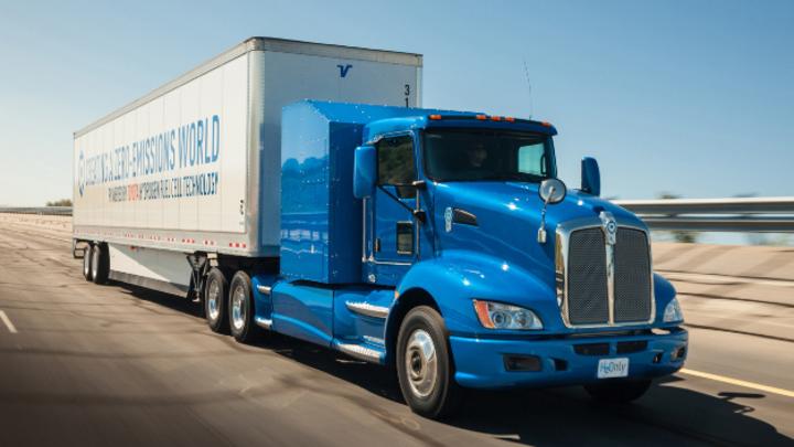 Klimafreundlicher Brennstoffzellenantrieb für schwere Lkw made in Japan.