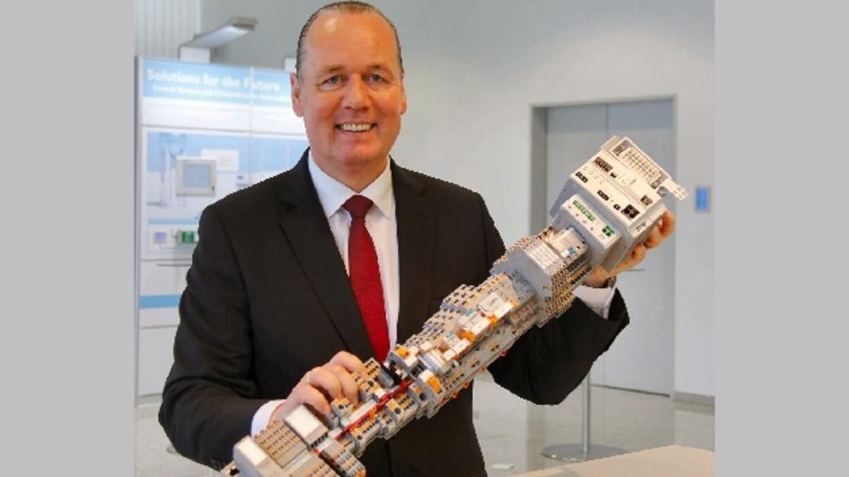Frank Stührenberg, der Vorsitzende der Phoenix-Contact-Geschäftsführung