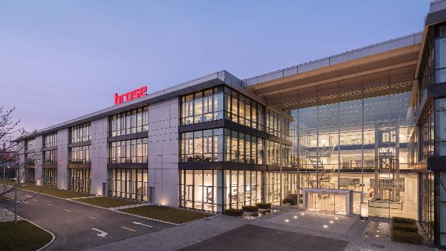 Brose eröffnet neue Zentrale in China.