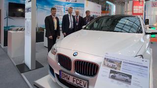 BMW Messestand auf der Hannover Messe 2017