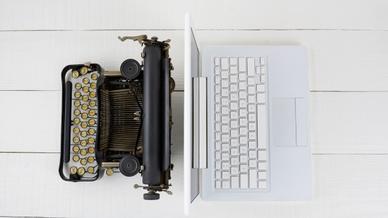 Computer Schreibmaschine