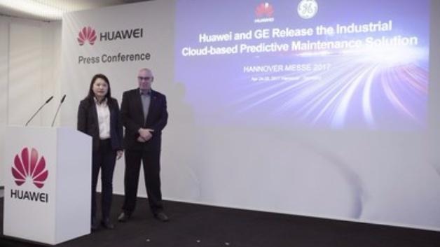 Kooperation im Zeichen der vorausschauenden Anlagenwartung: Huawei und GE Digital