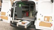 Die bott vario Fahrzeugeinrichtung bei WSS Security mit einem Unterflurmodul.