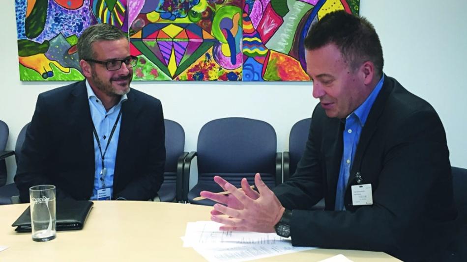 Andreas Schwaiger im Gespräch mit DESIGN&ELEKTRONIK-Chefredakteur Frank Riemenschneider.