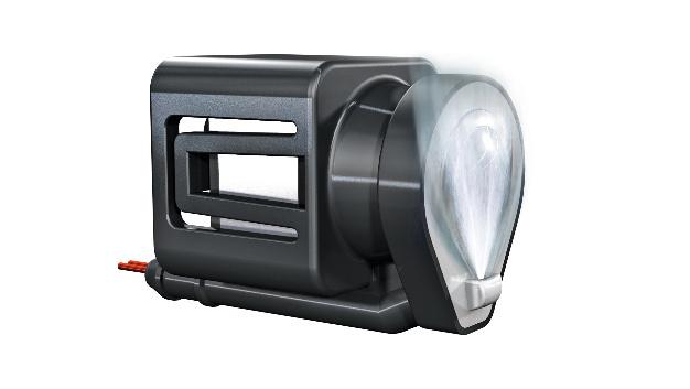 Integriertes Kamerareinigungssystem von Continental.