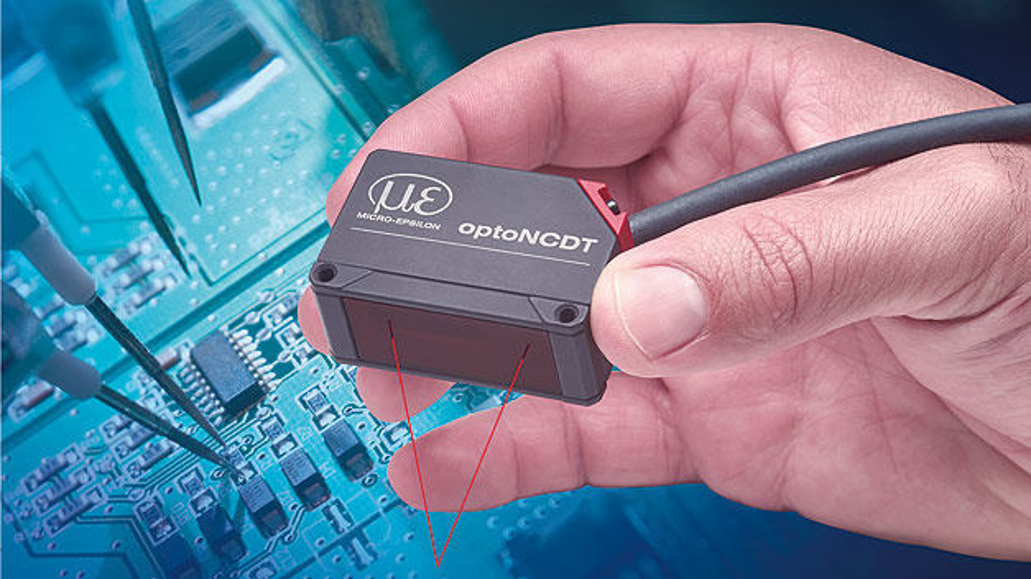 Bild 2. Durch die Auto-Target Compensation kommen die OptoNCDT-Sensoren auch mit schnellen Wechseln zwischen starken und schwachen Reflexionen zurecht.