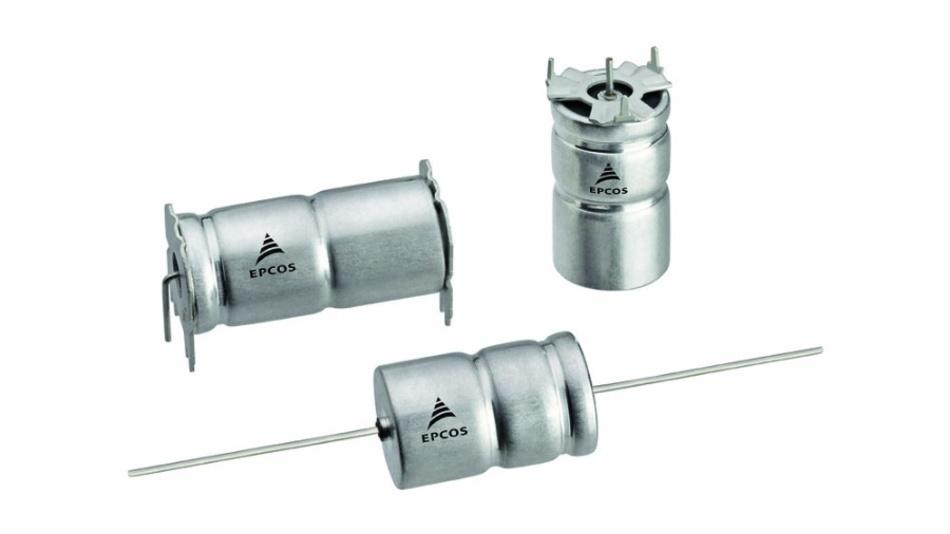 Dieser Aluminium-Elektrolytkondensator von TDK hält Vibrationen bis 60 g aus.