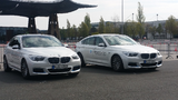 BMW zeigte auf der Hannover Messe ein Brennstoffzellen-Demonstrationsfahrzeug auf Basis eines 5er GT. Besucher konnten dieses auf dem 15.000 m² großen Ride + Drive Freigelände selber ausprobieren und fahren.